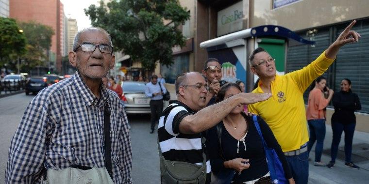 Image: Venezuela Earthquake