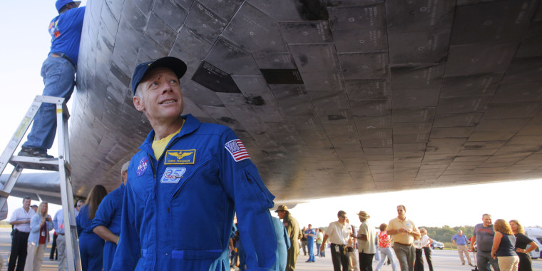 Image: Astronaut Chris Ferguson at Kennedy Space Center