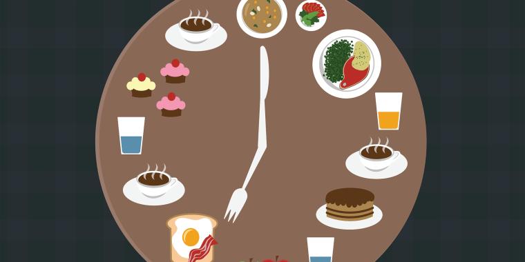 Image: Mealtime illustration