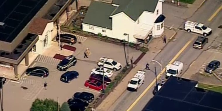 Multiple people have been shot inside a magisterial district judge's office in Masontown, southwestern Pennsylvania.