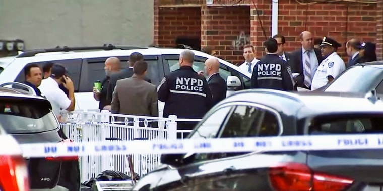 A 52-year-old day care worker allegedly stabbed five people, including three baby girls no more than one month old, at an overnight facility in Queens early Friday.