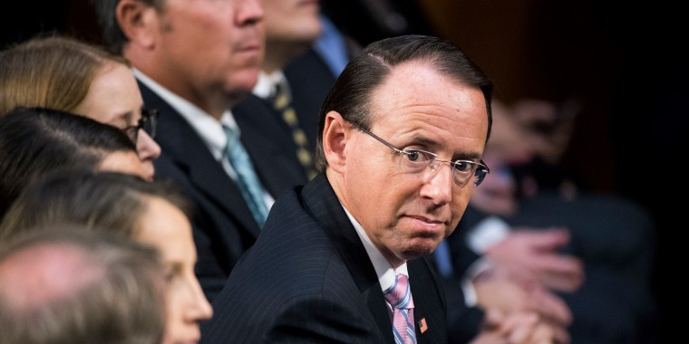 Saturday Night Massacre in the making? Trump and  Rosenstein to meet