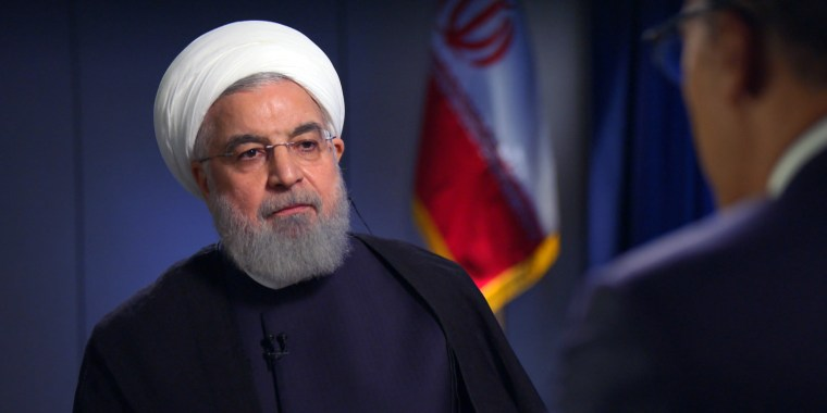 Image: Hassan Rouhani Lester Holt interview