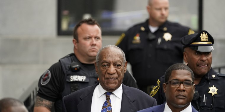 Image: Bill Cosby leaves the Montgomery County Courthouse in Norristown, Pennsylvania