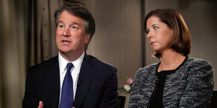 Kavanaugh denies sexual misconduct in interview