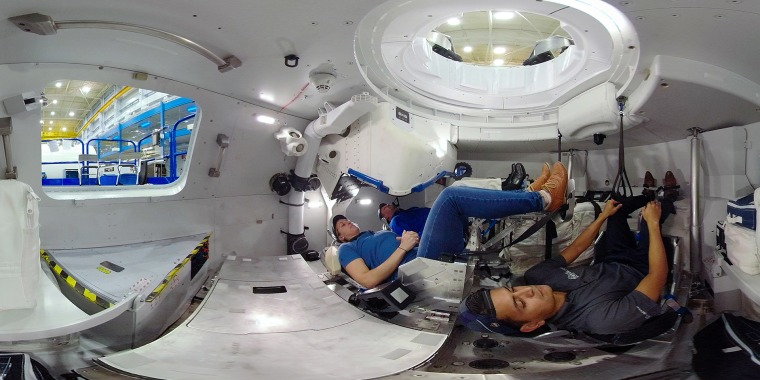 Boeing's CST-100 Starliner capsule is designed to take astronauts to and from the International Space Station.