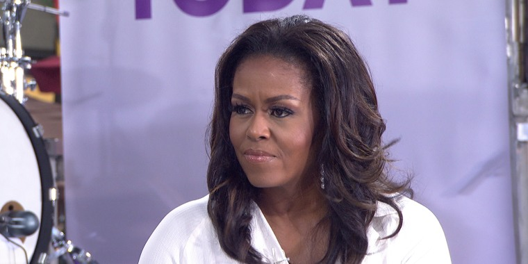 'I'd never forgive him': Michelle Obama slams Trump over birther conspiracy