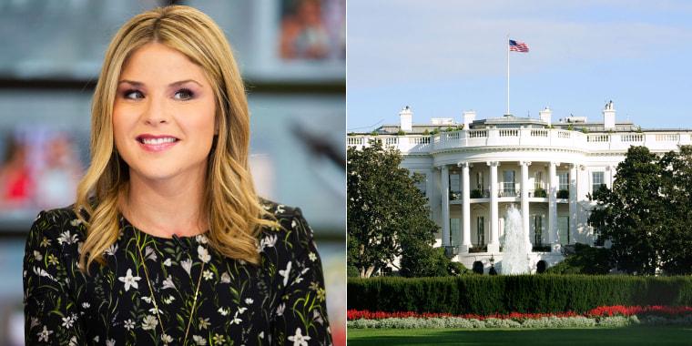 Jenna Bush Hager and The White House