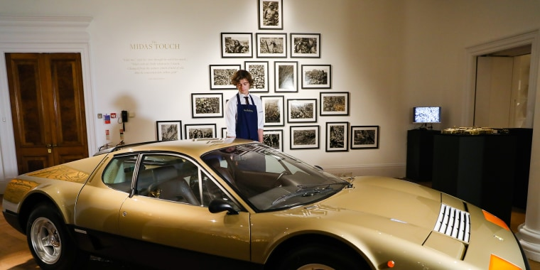 Image: Sotheby's 'The Midas Touch' Press Call