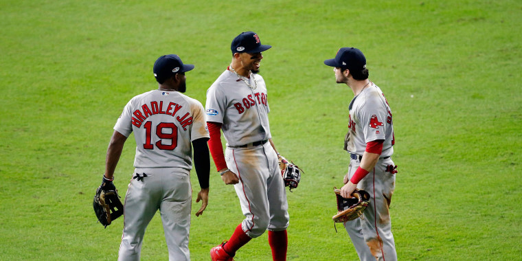 Image: League Championship Series - Boston Red Sox v Houston Astros - Game Four