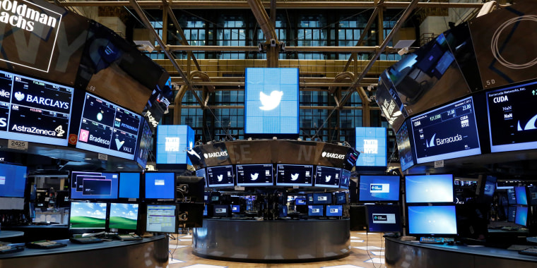 Image: The floor of the NYSE stands ready for the Twitter Inc. IPO