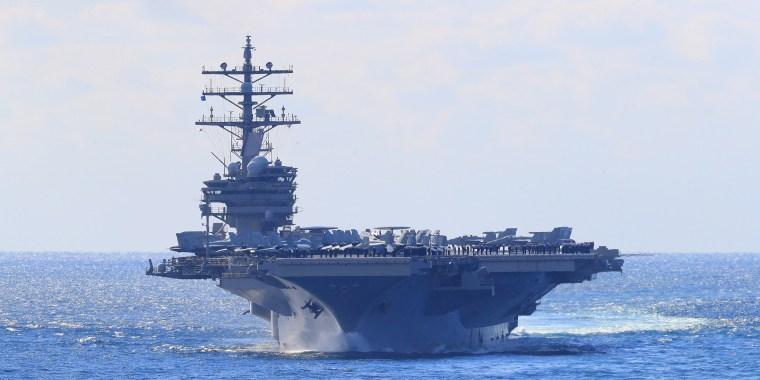 Image: International Fleet Review off South Korea's southern island of Jeju