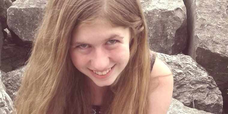 Image: Handout photo of Jayme Closs, 13 in this undated photo in Barron County, Wisconsin