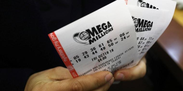Image: Mega Millions lottery