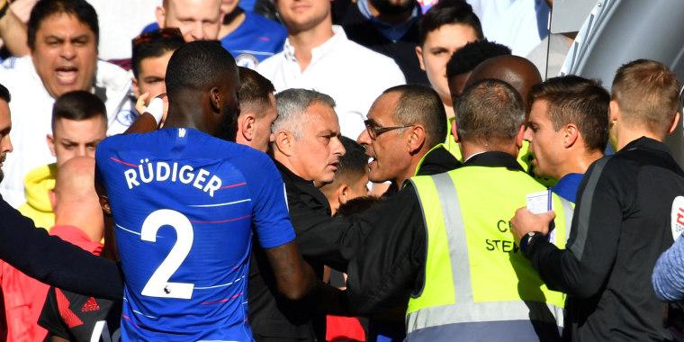 Image: Chelsea v Manchester United
