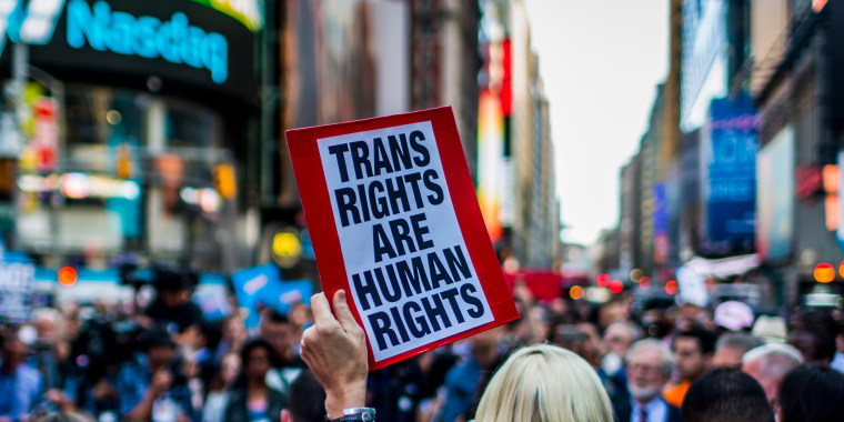 Image: Transgender rights protest