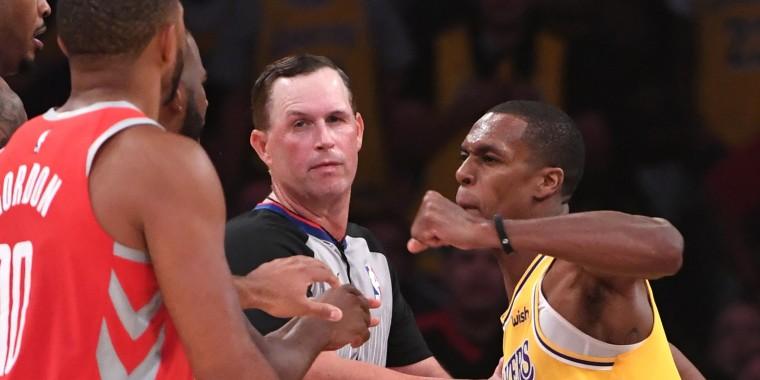 Image: NBA: Houston Rockets at Los Angeles Lakers