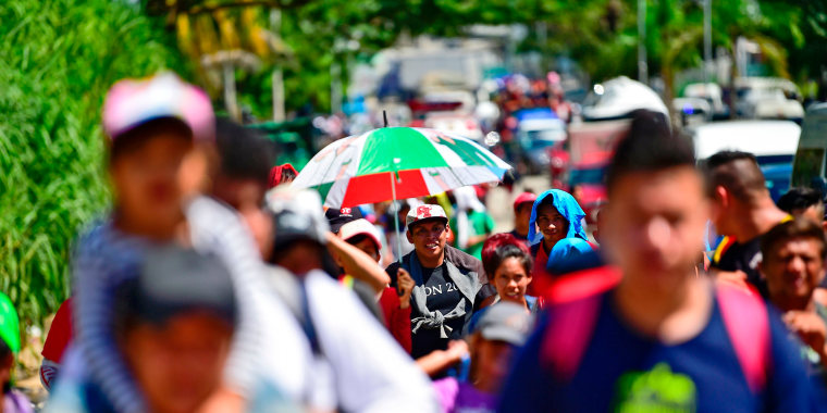 Image: MEXICO-HONDURAS-US-MIGRATION