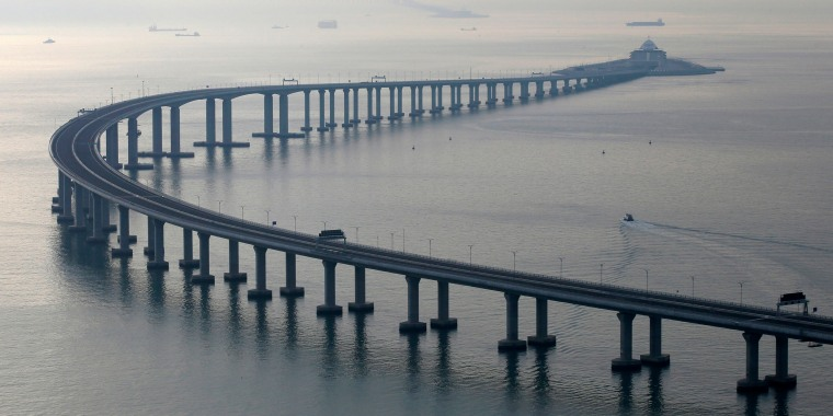 Image: The Hong Kong-Zhuhai-Macau Bridge