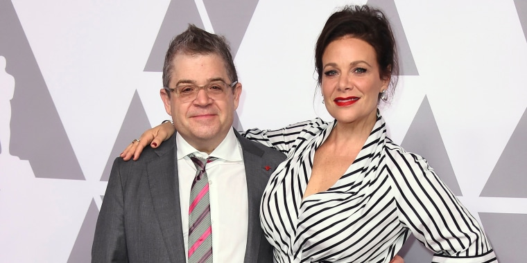Image: Patton Oswalt, Meredith Salenger
