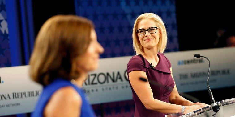 Democrat Kyrsten Sinema wins Arizona Senate race after nail-biter against Martha McSally