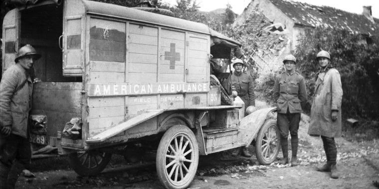 Devastation of World War I prompted critical medical advances