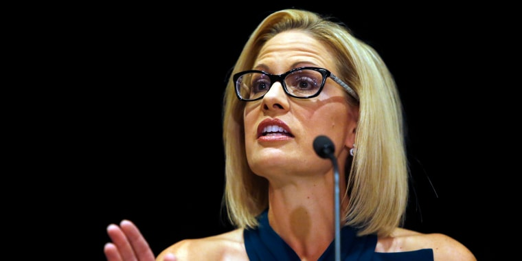 Democratic Rep. Sinema wins Arizona Senate race after nail-biter