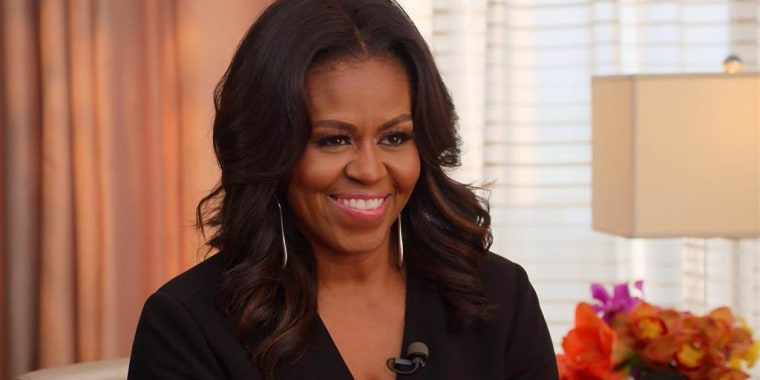Michelle Obama opens up about family and finding her voice