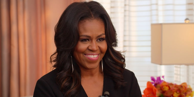 Michelle Obama on transcending the political discourse