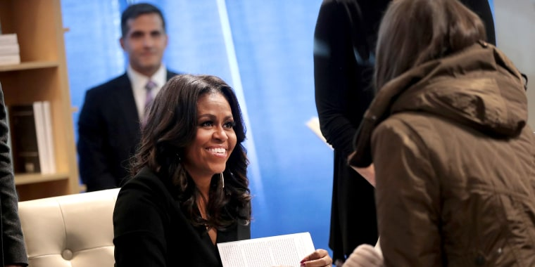 Image: Michelle Obama Holds  First Book Signing In Her Hometown Of Chicago
