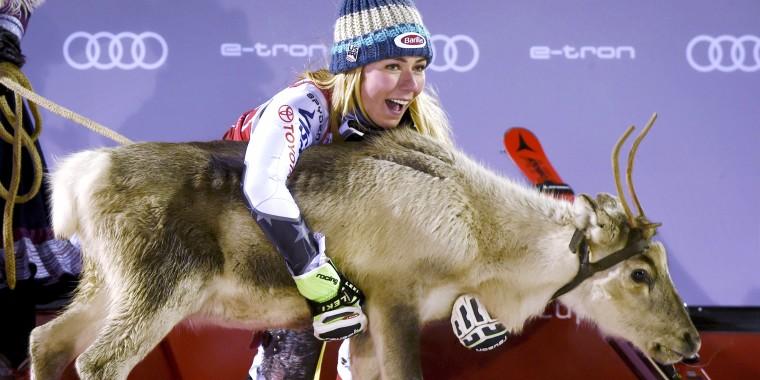 Image: FIS Alpine Ski World Cup - Ladies' Slalom