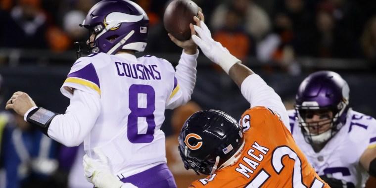 Image: Minnesota Vikings v Chicago Bears