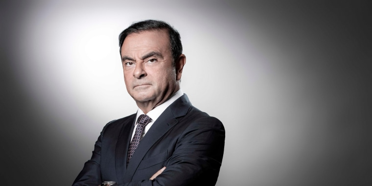 Carlos Ghosn, the chairman of Nissan, at the Renault headquarters in Boulogne-Billancourt, France, on Sept. 12, 2018.