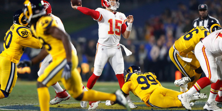 Image: Kansas City Chiefs v Los Angeles Rams
