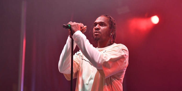 Image: Rapper Pusha T performs onstage during 2018 AfroPunk Festival Atlanta