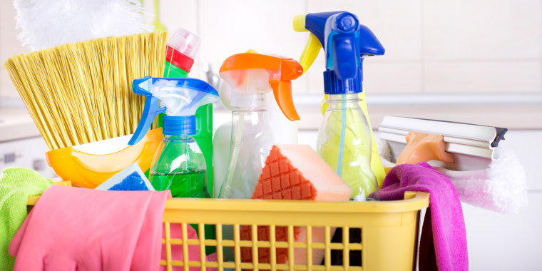Image: Cleaning supplies