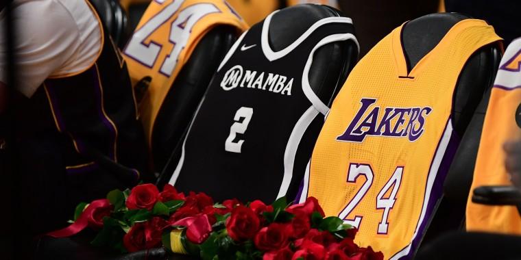 Image: BASKET-NBA-BRYANT-DEATH