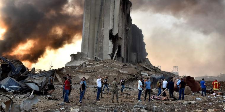 Image: LEBANON-BLAST