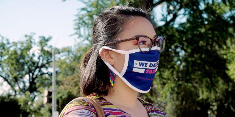Louie Tan Vital, a Filipina American based in Washington, DC who identifies as Democratic.