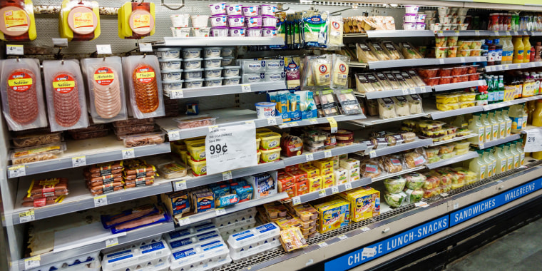 Miami Beach, CVS Pharmacy deli meats section