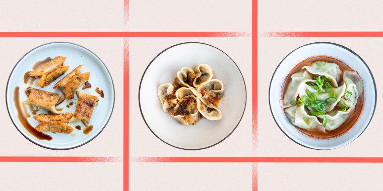 Photo Illustration of 3 dishes together