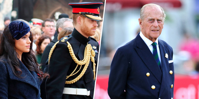 Prince Philip, Duke of Edinburgh attends the Driving for the Disabled event during the Royal Windsor Horse Show at Home Park on May 15, 2014 in Windsor, England.  Prince Harry, Duke of Sussex and Meghan, Duchess of Sussex attend the Opening of the Westminster Abbey Field of Remembrance in London.