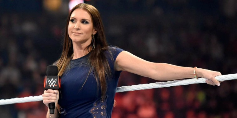 Stephanie McMahon, chief brand officer for WWE.