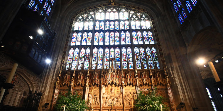 The altar of St George's Chapel at Windsor Castle.