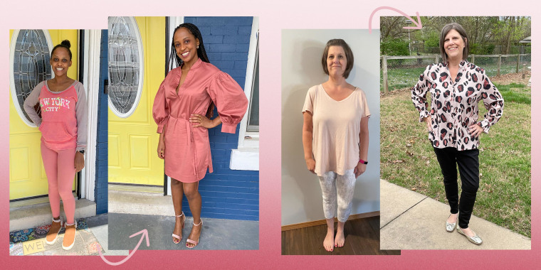 Style Me Something Good segment with two fans getting a stylish before and after makeover
