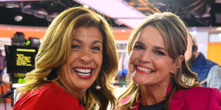 Hoda and Savannah