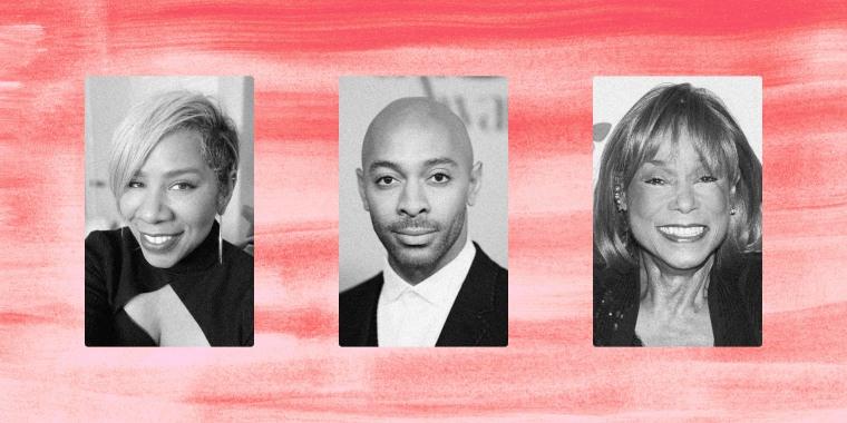 Jamika Wilson, Sir John, Bernadine Anderson.