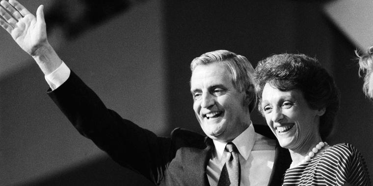 Walter Mondale, Joan Mondale