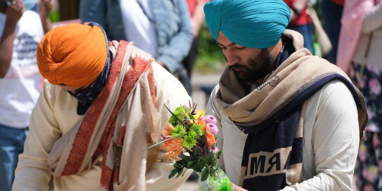 Image: Sikh community in Indianapolis, vigil