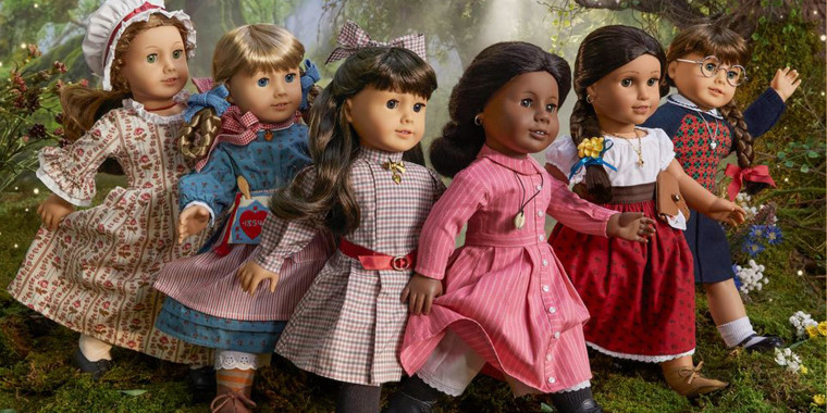 Image of the class American Girl Dolls